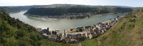 Loreley panorama Royalty Free Stock Photo