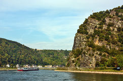 Rhine Valley, Germane Royalty Free Stock Photo