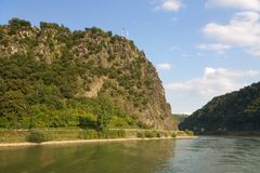 Loreley, Duitsland stock foto