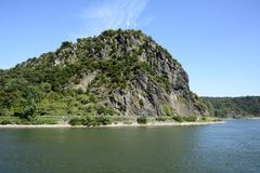 Loreley Rock Stock Photography