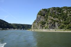 Loreley Rock Stock Photos