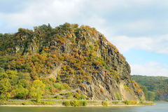 Loreley rock, Rheinland Royalty Free Stock Photos