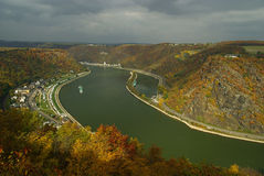 Loreley view Stock Photo