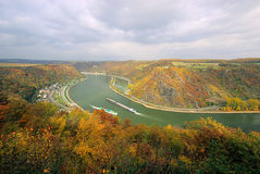 Loreley view Royalty Free Stock Photography