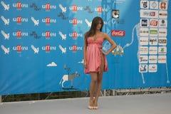 Lorella Boccia dans Giffoni Images stock