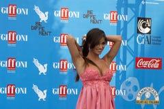Lorella Boccia Giffoni Film Festival Stock Fotografie