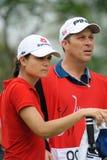 Lorena Ochoa, giro TAILANDIA 2010 delle PPTT LPGA della Honda Fotografia Stock Libera da Diritti