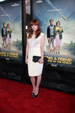 Lorene Scafaria arrives at the  Stock Photos
