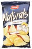 Lorenz Naturals parmesan sera frytek torba odizolowywająca na bielu Obrazy Stock