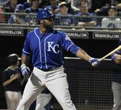 Lorenzo Cain stock photography