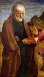 Lorenzo d Alessandro: Święty John apostoł zdjęcia royalty free