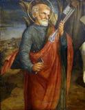 Lorenzo d Alessandro: Święty Peter apostoł obrazy royalty free