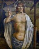 Lorenzo d Alessandro: Wzrastający Chrystus obraz royalty free