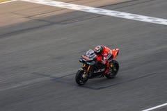 LORENZO Jorge på Burirum, Thailand - Februari, 17,2018: MotoGP B arkivfoton