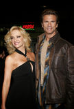 Lorenzo Lamas and Barbara Moore Stock Images