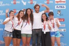 Lorenzo Richelmy au festival de film de Giffoni 2016 Photo stock