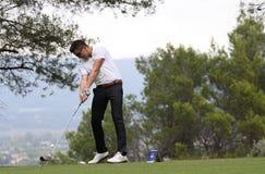 Lorenzo Vera, au golf maîtrise 13, 2013 Photographie stock libre de droits