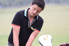 Lorenzo Vera bij golf het Frans opent 2010 Stock Fotografie