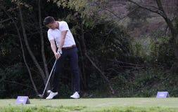 Lorenzo Vera, bij golfmeesters 13, 2013 Stock Foto's