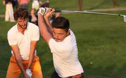 Lorenzo Vera, bij golfmeesters 13, 2013 Stock Afbeelding
