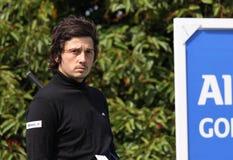 Lorenzo Vera bij het Golf Open DE Parijs 2009 Stock Foto's