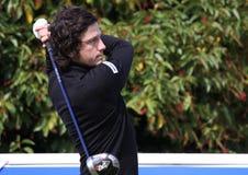 Lorenzo Vera bij het Golf Open DE Parijs 2009 Stock Foto