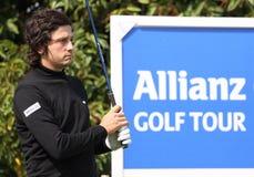 Lorenzo Vera en el golf de abierto París 2009 Foto de archivo