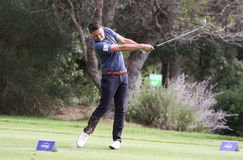 Lorenzo Vera,  at the golf Masters 13, 2013 Stock Photo