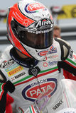 Lorenzo Zanetti - Ducati 1098R - PATA che corre squadra fotografia stock