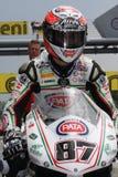 Lorenzo Zanetti - Ducati 1098R - PATA che corre squadra immagine stock