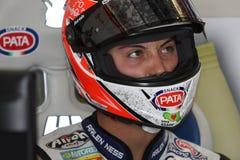 Lorenzo Zanetti - Ducati 1098R - PATA Racing Team Stock Image