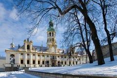 Loreta教会, Hradcany,布拉格,捷克共和国 免版税库存照片