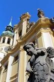 Loreta в Праге, чехии стоковая фотография