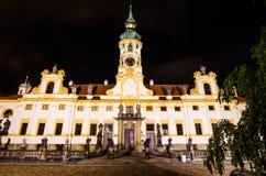 Loreta, baroque Church in Prague, Czech republic stock images