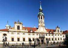 Loreta Church in Prague. Czech Republic Stock Image