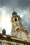 Loreta, famous church in Prague, Czech Republic Stock Image