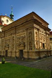 Loreta is a large pilgrimage destination in Hradčany, a district of Prague, Czech Republic Royalty Free Stock Photo