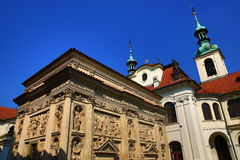 Loreta is a large pilgrimage destination in Hradčany, a district of Prague, Czech Republic Stock Photography