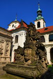 Loreta is a large pilgrimage destination in Hradčany, a district of Prague, Czech Republic Royalty Free Stock Image