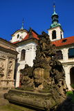 Loreta is a large pilgrimage destination in Hradčany, a district of Prague, Czech Republic Stock Image