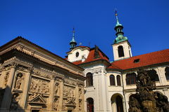 Loreta is a large pilgrimage destination in Hradčany, a district of Prague, Czech Republic Stock Images
