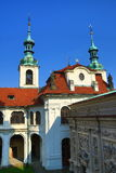 Loreta is a large pilgrimage destination in Hradčany, a district of Prague, Czech Republic Royalty Free Stock Photos