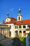 Loreta is a large pilgrimage destination in Hradčany, a district of Prague, Czech Republic Royalty Free Stock Photography