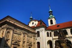 Loreta is a large pilgrimage destination in Hradčany, a district of Prague, Czech Republic Stock Images