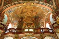 Loreta is a large pilgrimage destination in Hradčany, a district of Prague, Czech Republic Stock Photos