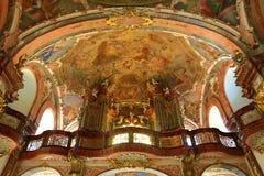 Loreta is a large pilgrimage destination in Hradčany, a district of Prague, Czech Republic Royalty Free Stock Image