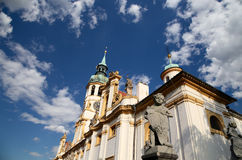 Loreta, a large pilgrimage destination in Hradcany Stock Photo