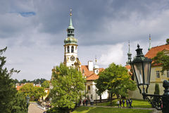 Loreta is a large pilgrimage destination in Hradcany, Royalty Free Stock Images