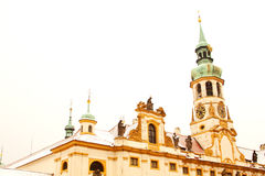 Loreta Monastery in Prague Stock Image