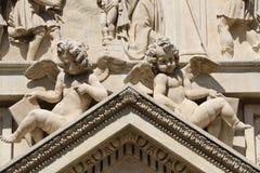 Loreta in Prague. Detail of the marian pilgrimage site of Loreta in Prague Royalty Free Stock Photos